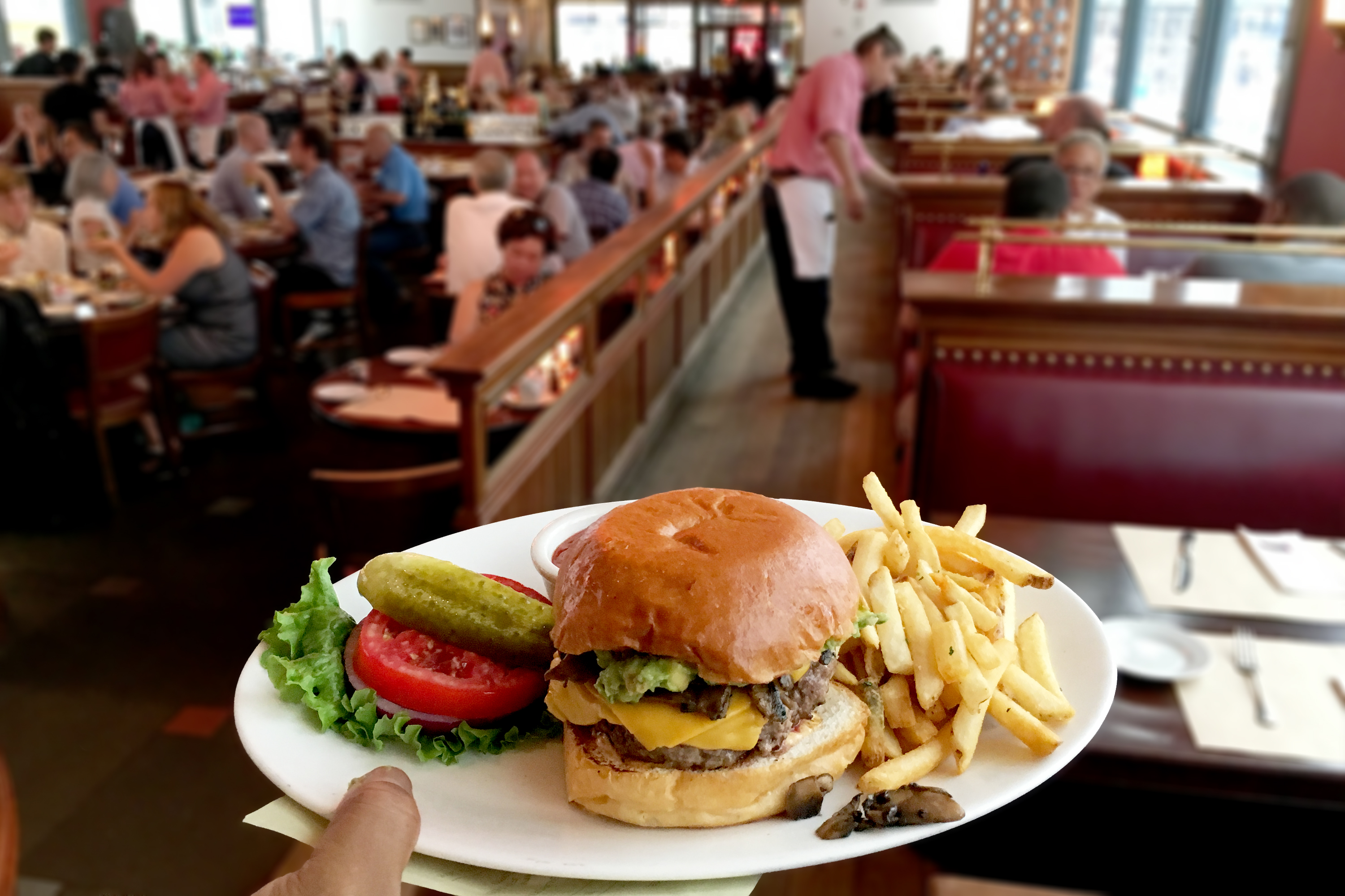 Pershing Square Burger