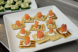 Pershing Square Salmon Appetizers